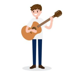Bedford Guitar Teacher, day time lessons available